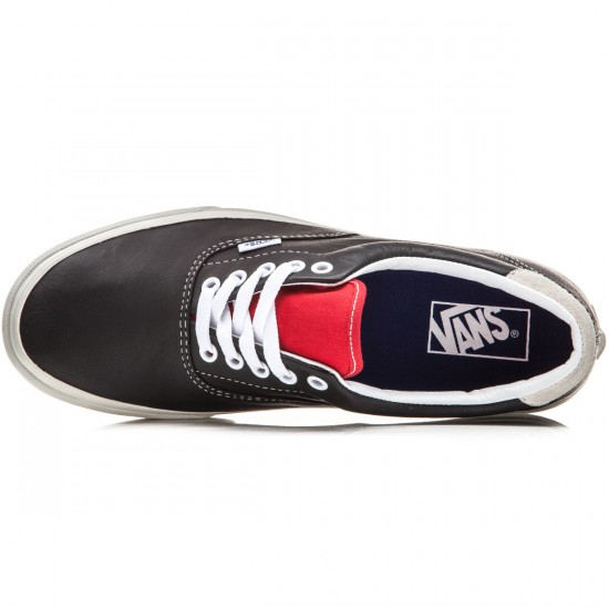 Vans Era 59 Shoes - Vintage Sport Black/Racing Red - 10.0