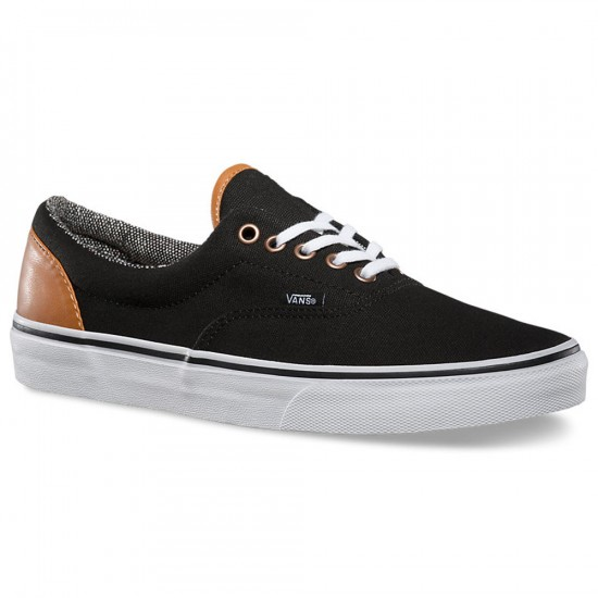 Vans Era C&L Shoes - Black/Tweed - 10.0
