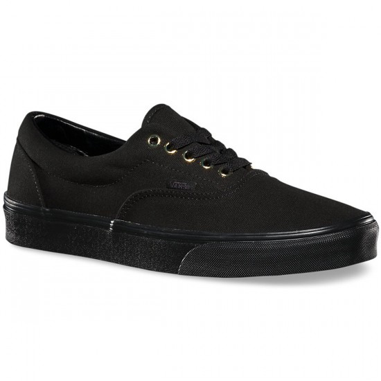 Vans Gold Mono Era Shoes - Black - 8.5