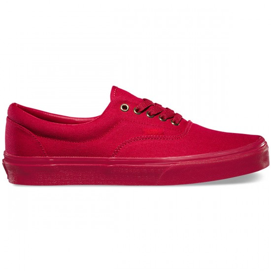 Vans Gold Mono Era Shoes - Crimson - 9.0