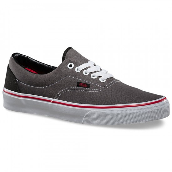 Vans Era Pop Shoes - Gargoyle/Mars Red - 8.0