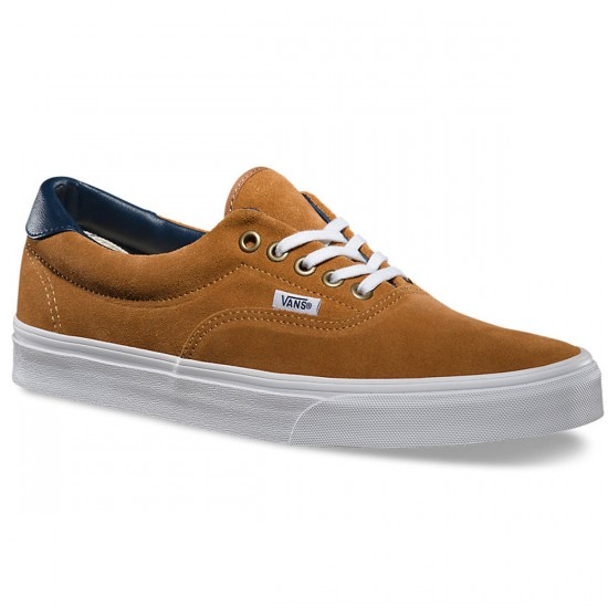 Vans Era 59 Suede/Leather Shoes - Brown Sugar - 8.0