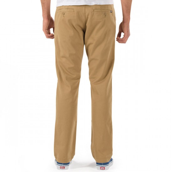 Vans Excerpt Chino Pants - New Mushroom Brown - 36 - 32
