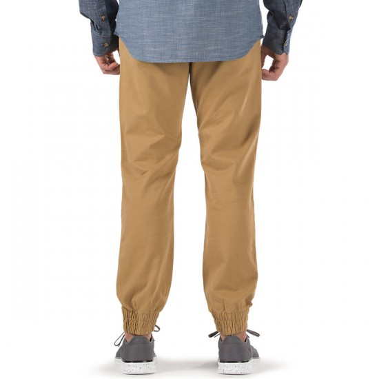 Vans Excerpt Chino Pegged Pants - New Mushroom Brown - 38 - 32