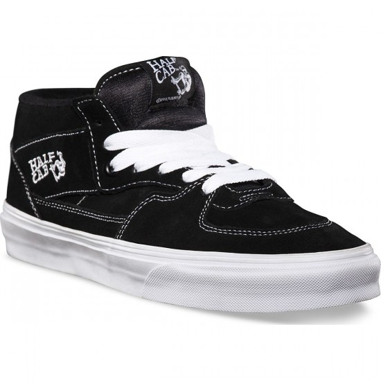 Vans Half Cab Youth Shoes - Black - 5.0