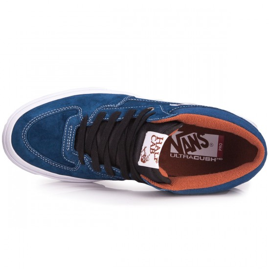 Vans Half Cab Pro Shoes - Poseidon/White - 6.5