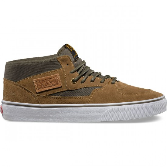 Vans Half Cab Surplus Shoes - Butternut/Olive Night - 13.0