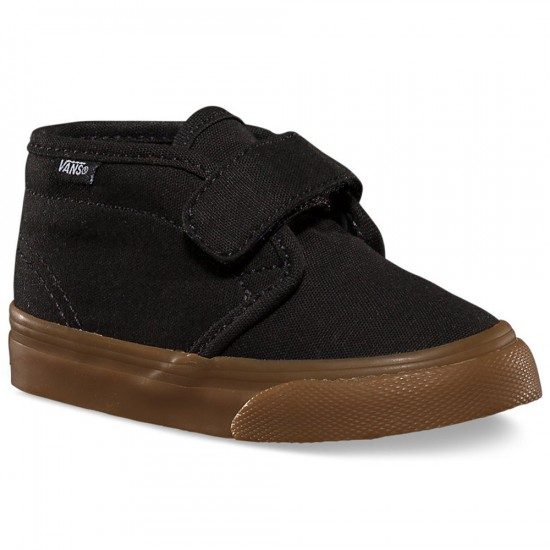 Vans Infant/Toddler Chukka V Shoes - Black/Gum - 10C