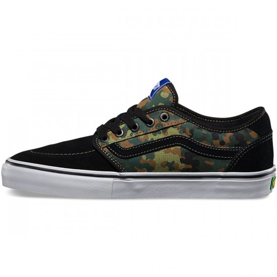 Vans Lindero 2 Pedro Barros Shoes - Black/White - 12.0