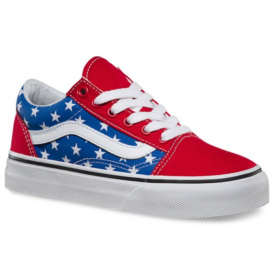 Vans Little Kid/Big Kid Old Skool Shoes - Stars/Stripes - 2Y