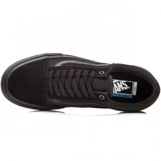 Vans Old Skool Pro Shoes - Blackout - 8.0
