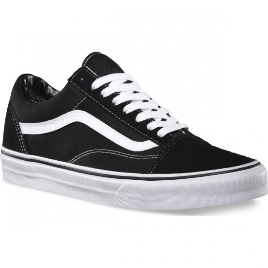 Vans Old Skool Core Classic Shoes - Black/White - 8.5