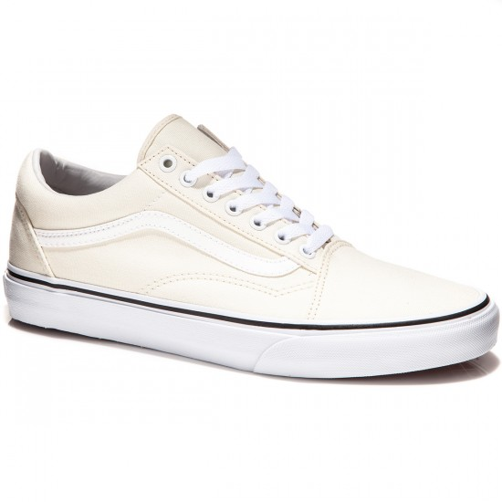 Vans Old Skool Shoes - Canvas/Classic White - 7.0