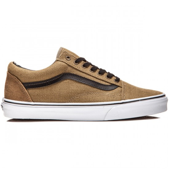 Vans Old Skool Shoes - Jute Walnut/Black - 8.0