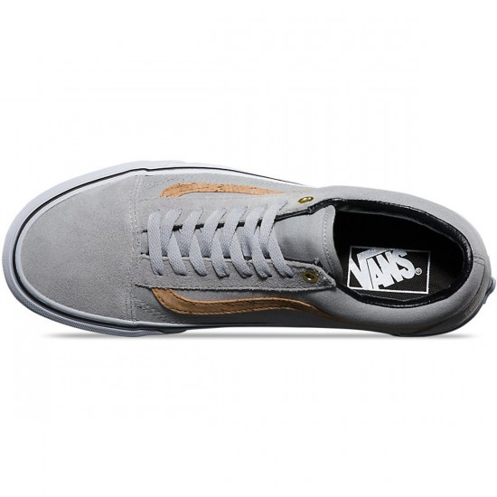 Vans Old Skool Side Stripe Shoes - Highrise/Cork - 10.0