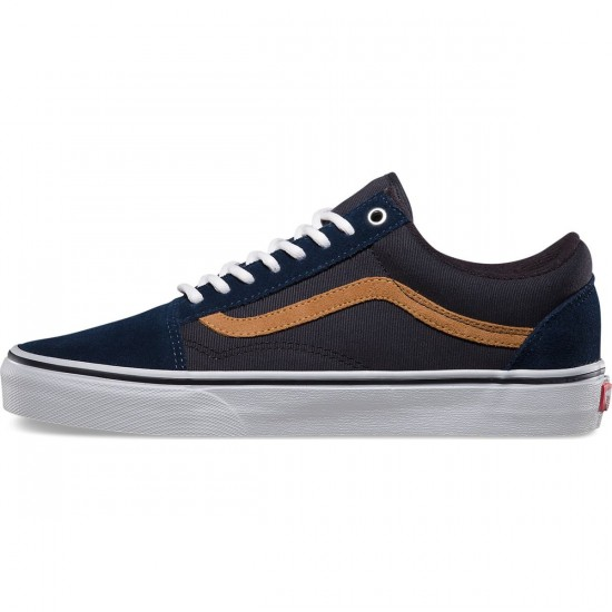 Vans Old Skool Surplus Shoes - Dress Blue/Blue Graphite - 9.0
