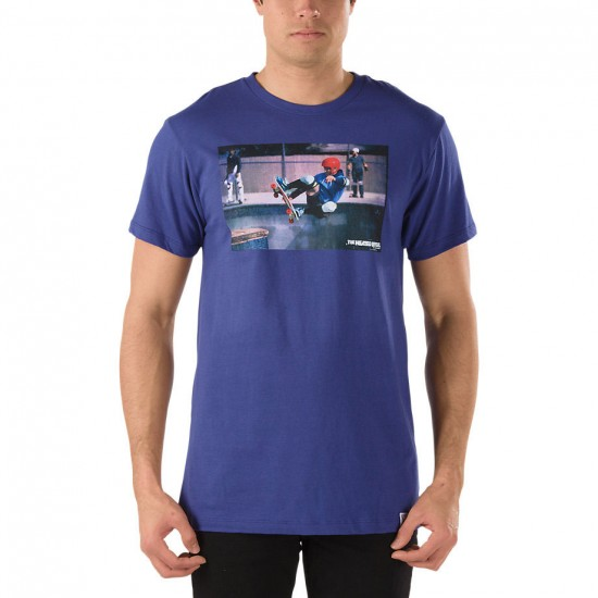 Vans OTW Gallery Blender T-Shirt - Sparkle Blue