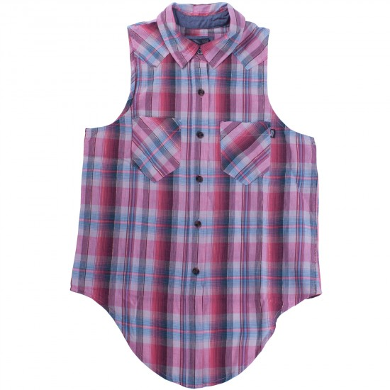 Vans Prenna Women's Plaid Shirt - Bittersweet