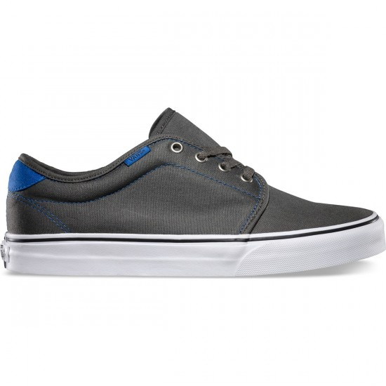 Vans 159 Vulcanized Shoes - Charcoal/Skydiver - 7.0