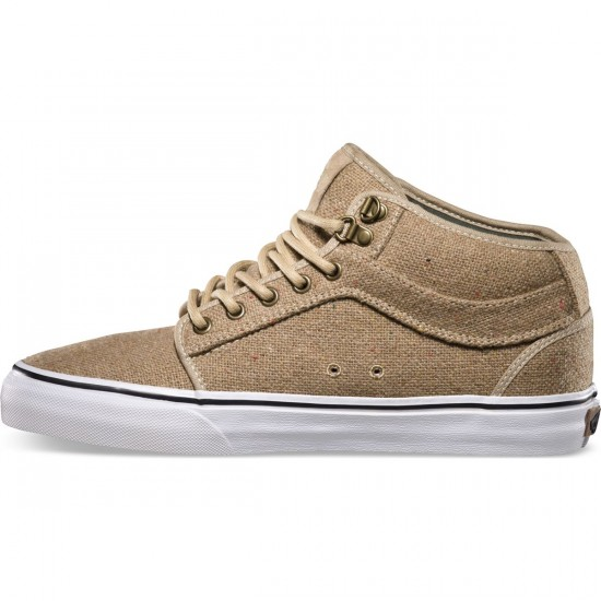 Vans Chukka Mid Shoes - Outdoor Tan - 7.0
