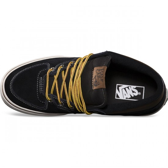 Vans Hiker Half Cab Shoes - Suede/Black - 8.0