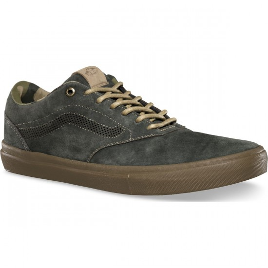Vans Outdoor Euclid Shoes - Dark Military - 8.0