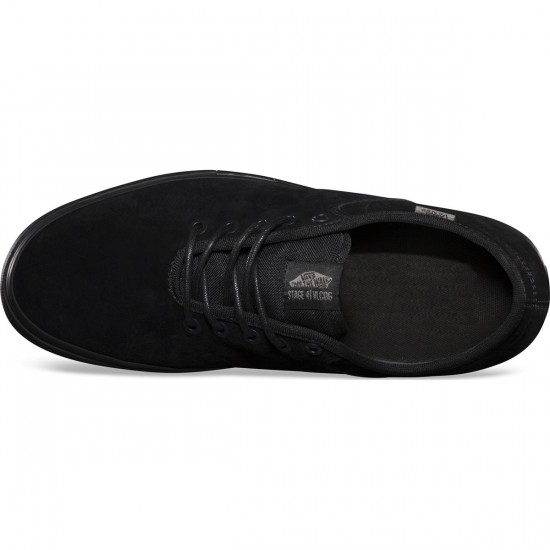 Vans Andrew Allen Stage 4 Low Shoes - Black - 8.0