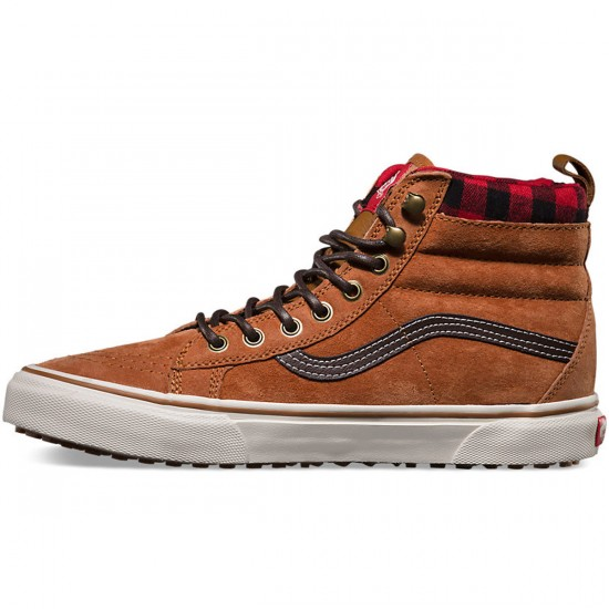 Vans SK8 - Hi Mountain Edition Shoes - Glazed Ginger - 10.0