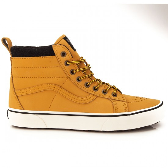Vans Sk8-Hi MTE Shoes - Honey Leather - 6.0