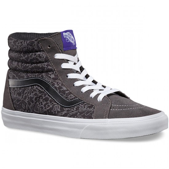 Vans Sk8-Hi Reissue Liberty Shoes - Tonal Paisley/Grey - 4.0