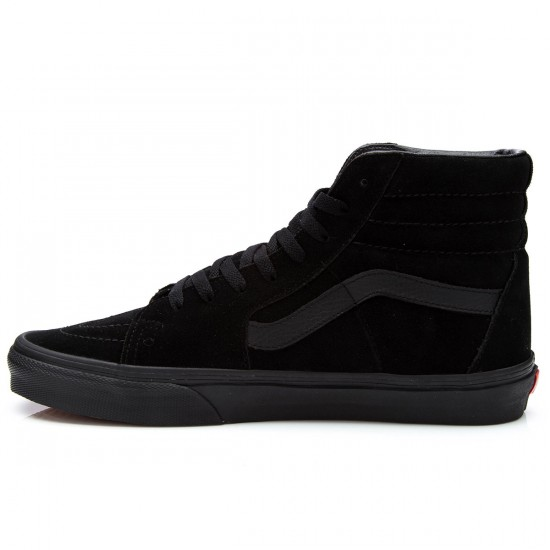 Vans Sk8-Hi Shoes - Black/Black - 9.5