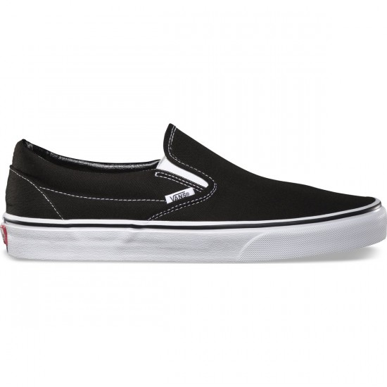 Vans Classic Slip-On Shoes - Black - 6.0
