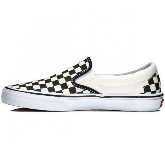 Vans Slip-On Pro Shoes - Checkerboard - 8.0