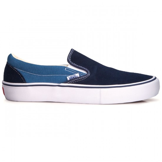 Vans Slip-On Pro Shoes - Two Tone Navy/Navy - 6.5