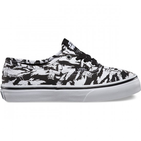 Vans Star Wars Authentic Youth Shoes - Dark Side/Storm Camo - 1.0