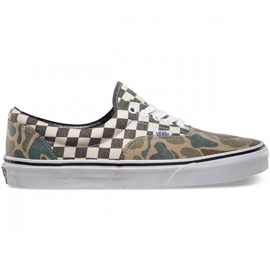 Vans Van Doren Era Shoes - Camo/White Checker - 10.0