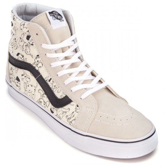 Vans X Disney SK8-Hi Reissue Shoes - Dalmatians/White - 10.0