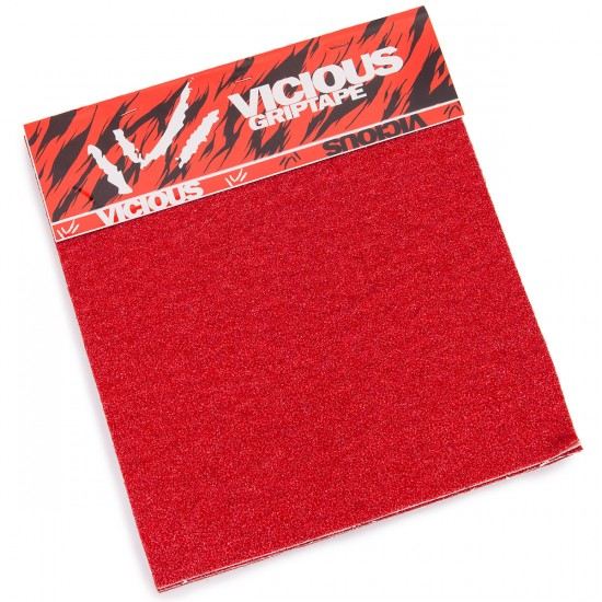 Vicious Griptape - 4 Sheet Pack - Red