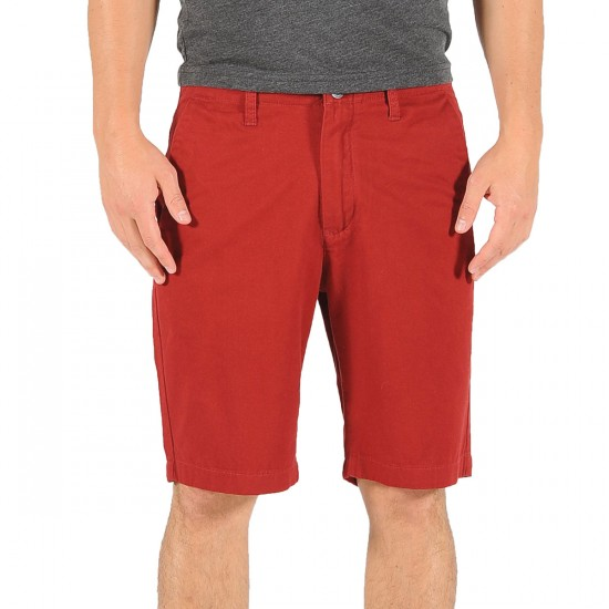 Volcom Faceted Shorts - Crimson