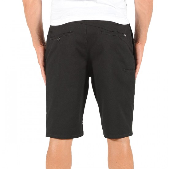 Volcom Frickin Mod Stretch Shorts - Black