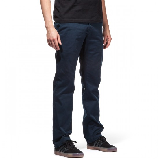 Volcom Frickin Modern Stretch Chino Pants - Dark Navy - 30 - 32