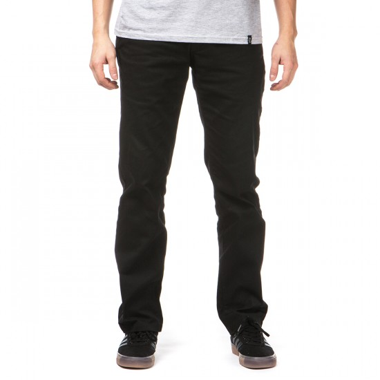 Volcom Frickin Modern Stretch Chino Pants - Black - 32 - 32