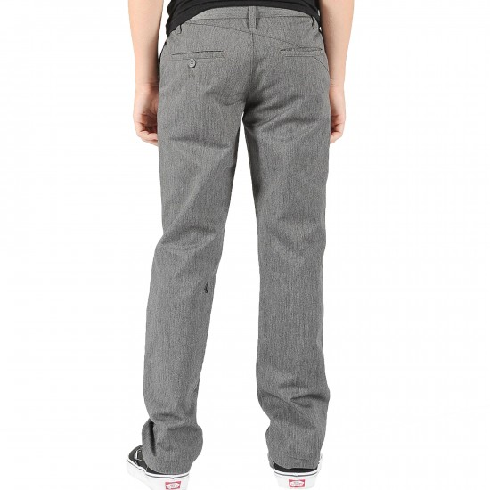 Volcom Frickin Modern Youth Pants - Charcoal Heather