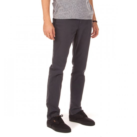 Volcom Frickin Slim Canvas Pants - Charcoal - 28 - 32