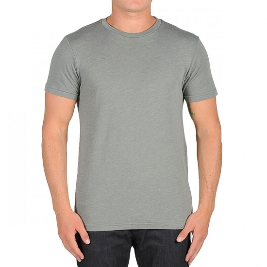 Volcom Heather Solid T-Shirt - Slate Grey Heather