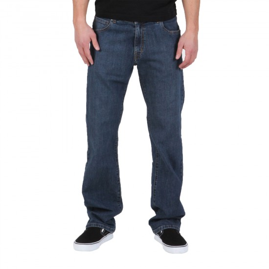 Volcom Kinkade Jeans - High Times Blue - 32 Length