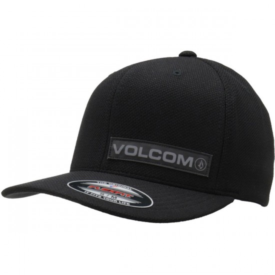 Volcom Marksman Flexfit Hat - Black