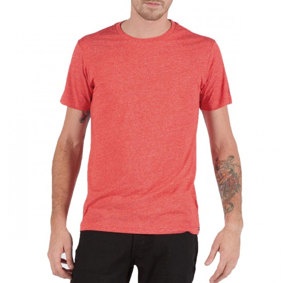 Volcom Mock Twist T-Shirt - Chili Red