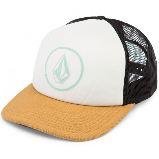 Volcom Nacho Womens Trucker Hat - Buckthorn