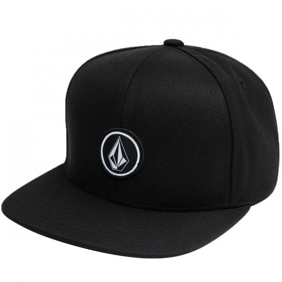 Volcom Quarter Snap Hat - Black